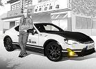 Toyota GT86 Initial D | Jak z komiksu