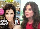 """Sandra Bullock nazwana """"najpi�kniejsz� kobiet� �wiata"""". Reakcja? Najpierw TA mina, a potem wa�ne s�owa"""
