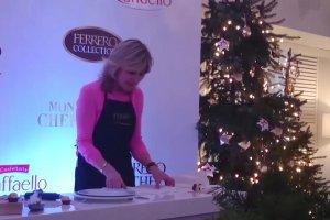 �wi�teczne inspiracje od Ferrero. Anthea Turner pokazuje, jak zrobi� oryginalne dekoracje na �wi�ta