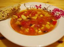 Hiszpańska zupa mięsna z Chorizo i czerwoną fasolą - ugotuj