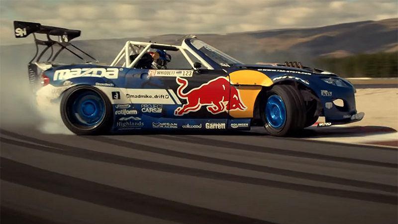 Wideo 1500 Konna Mazda Mx 5 Driftuje Na Torze