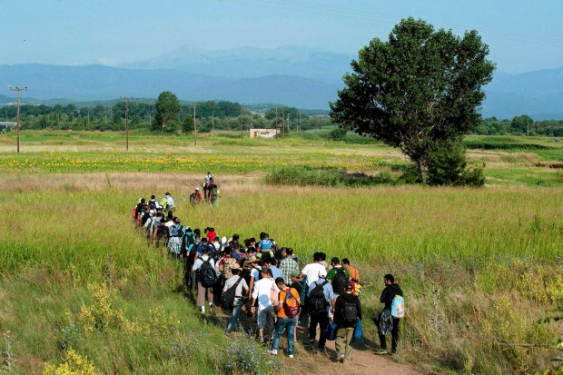 Uchod�cy z Syrii