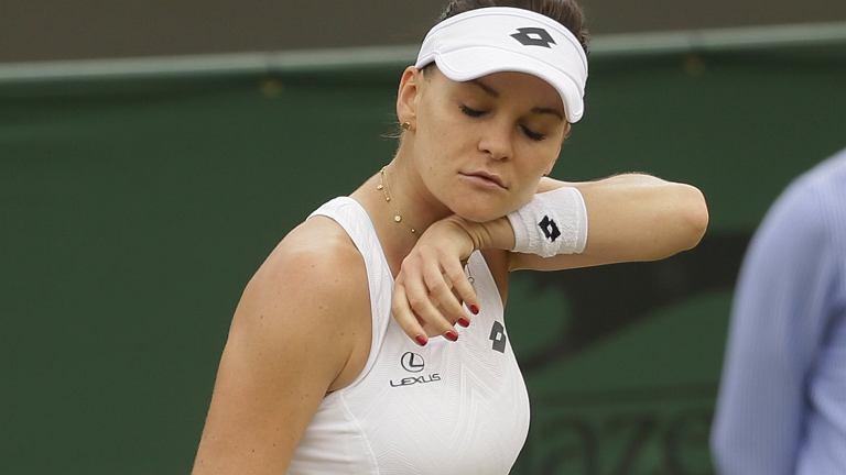 Wimledon 2018. Agnieszka Radwańska