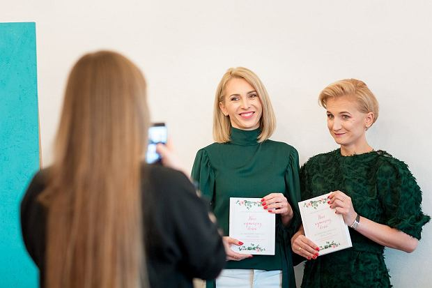 Kamila Romanow i Anna Dąbrowska, autorki książki