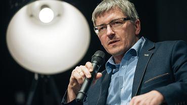 Marek Lewandowski, rzecznik prasowy Komisji Krajowej NSZZ Solidarność