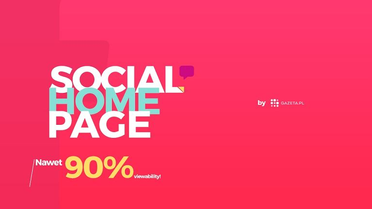 Social Home Page