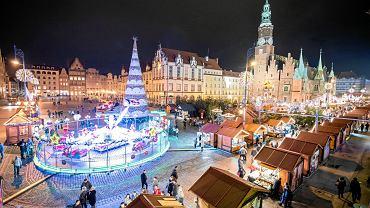 Targ bożonarodzeniowy we Wrocławiu