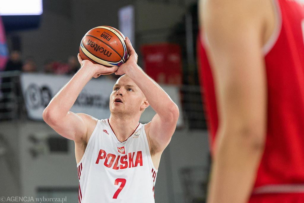 Mecz reprezentacji Polski w koszykówce z Węgrami w Bydgoszczy