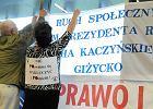 Kaczy�ski mobilizuje zwolennik�w w Olsztynie [FOTO]