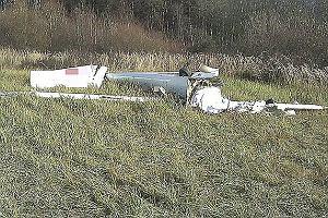 Wypadek szybowca w Bezmiechowej. Pilot nie �yje