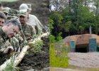 Ukraina ukończyła budowę 600 km fortyfikacji na granicy z Rosją. Bunkry i okopy odwiedził prezydent [ZDJĘCIA]