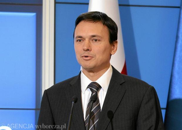Szef KPRM Jacek Cichocki