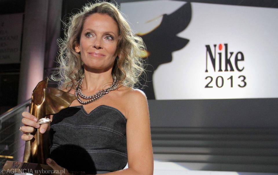 Joanna Bator zdobywczyni nagrody Nike 2013