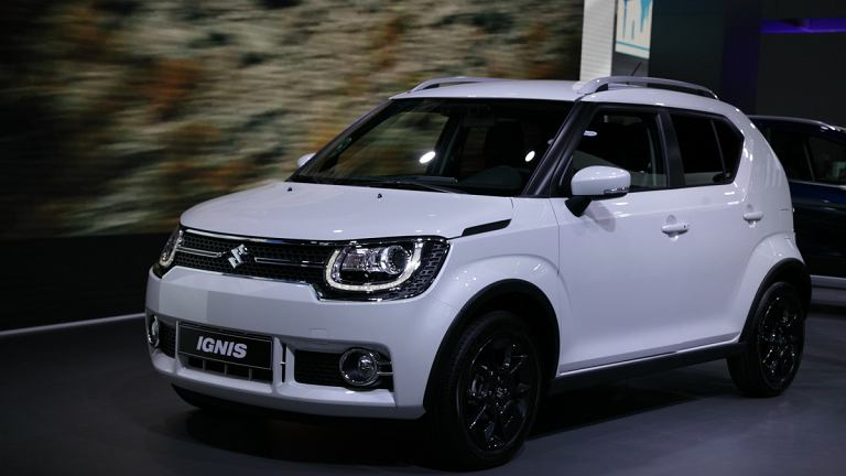 salon pary 2016 suzuki ignis ma y crossover z nap dem 4x4. Black Bedroom Furniture Sets. Home Design Ideas