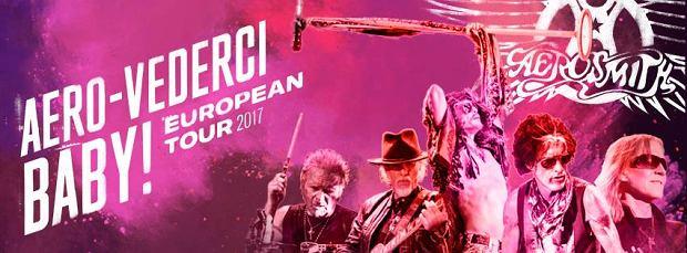 """Amerykańska legenda rocka Aerosmith jest w trakcie pożegnalnego tournee po Europie. Niebawem, bo już 2 czerwca, słynny zespół wystąpi na Aerosmith Tauron Arena Kraków. Pożegnalna trasa koncertowa grupy nosi nazwę """"Aero-Vederci Baby!"""". Aerosmith bilety na koncert w Krakowie są w sprzedaży już od kilku miesięcy - pierwsza pula pojawiła się 18 listopada 2016 roku."""