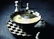 Zupa czarno-bia�a - ugotuj