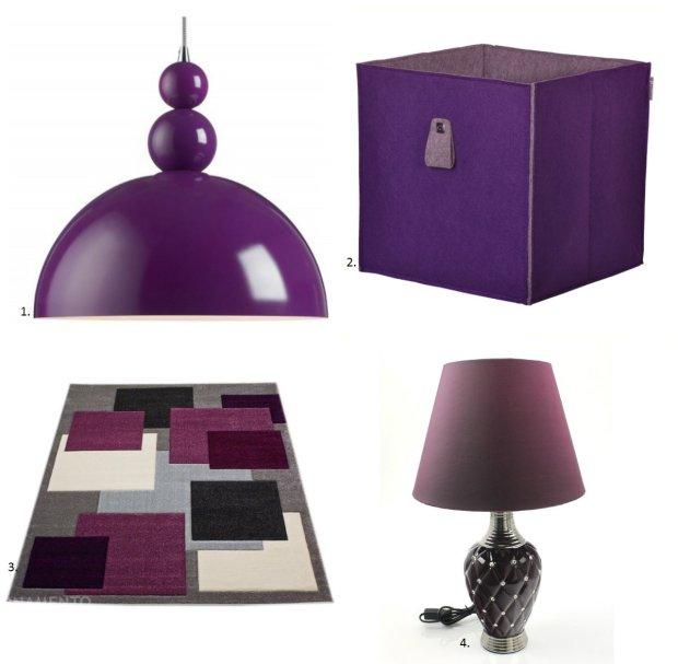 Dodatki w kolorze fioletowym