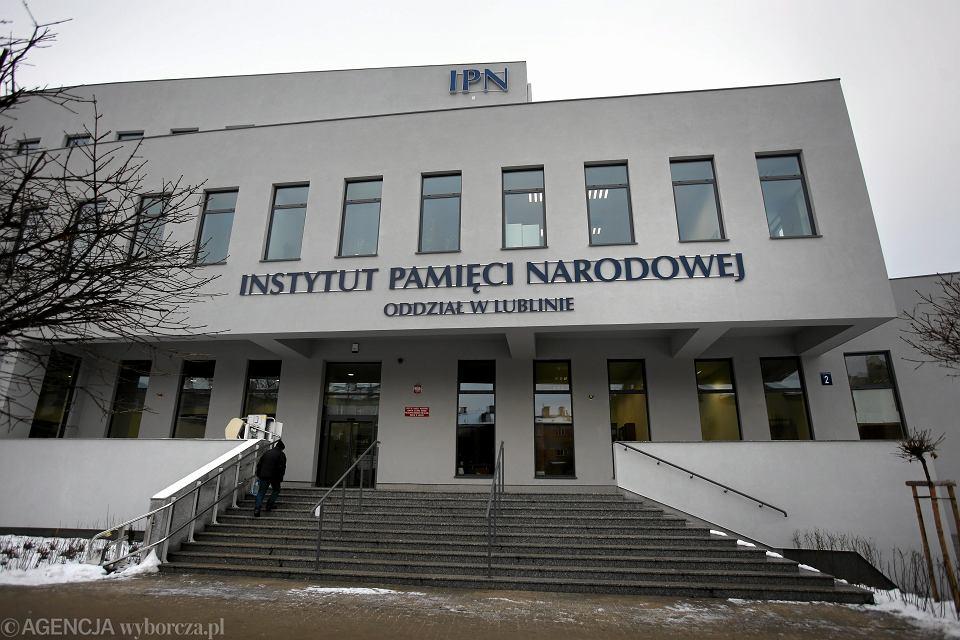 Siedziba IPN w Lublinie, 7 grudnia 2016