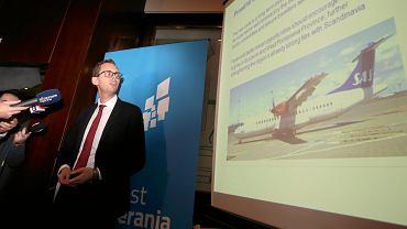 Andreas Akerman z SAS opowiada o nowym połączeniu lotniczym Kopenhaga - Szczecin