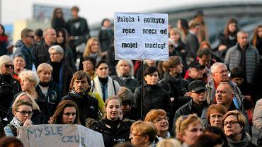 Czarny protest w Katowicach: strajk kobiet, odsłona II