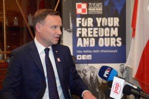 Prezydent Duda: nie powiedzia�bym dzisiaj Polakom - wracajcie