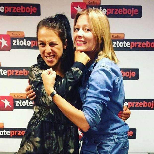 Joanna Jędrzejczyk i Odeta Moro w Radiu Złote Przeboje