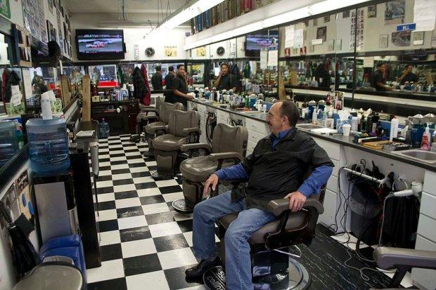 Fryzjer męski współcześnie