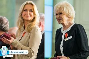 Matka i c�rka. Krystyna Loska i Gra�yna Torbicka u prezydenta. Jak wygl�da�y?