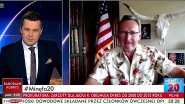 Michał Rachoń i Wojciech Cejrowski o IMGW w 'Minęła 20' TVP