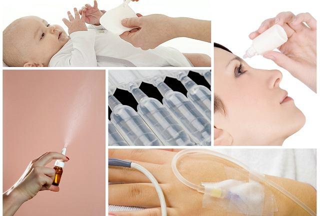 Sól fizjologiczną można stosować do przemywania ciała czy oczu już od pierwszych dni życia.