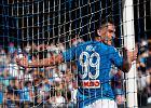 """Serie A. """"Maurizio Sarri jest przekonany, że Napoli byłoby liderem, gdyby nie kontuzja Arkadiusza Milika"""""""