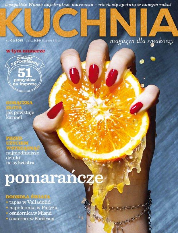Styczniowy numer magazynu Kuchnia ju� w sprzeda�y!