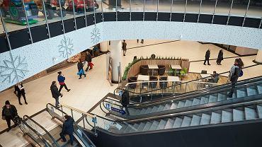 11.03.2018, Gdańsk-Wrzeszcz, Galeria Metropolia podczas pierwszej niedzieli bez handlu była otwarta ze względu na przylegający do niej peron Szybkiej Kolei Miejskiej.