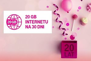 T-Mobile rozdaje darmowe paczki internetu. Nawet 20 GB. Wszystko z okazji siódmej rocznicy działalności w Polsce