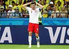 Mistrzostwa świata w piłce nożnej. Polska - Kolumbia. Robert Lewandowski słaby jak wynik i cała drużyna