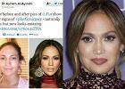 """Boska J.Lo bez makija�u. Pono� """"wida� �lady operacji plastycznych"""". Faktycznie?"""