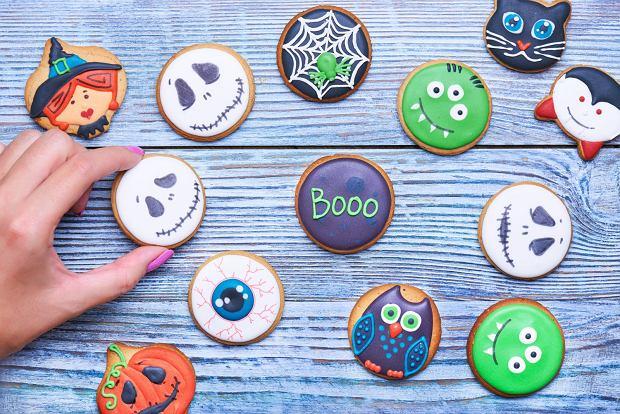 Happy Halloween - ciasteczka na Halloween