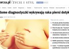 Niewidome diagnostyczki wykrywają raka piersi dotykiem