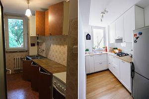 Małe Kuchnie W Bloku Wnętrzaaranżacje Wnętrz Inspiracje