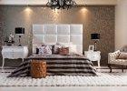 Łóżko z zagłówkiem - styl i wygoda