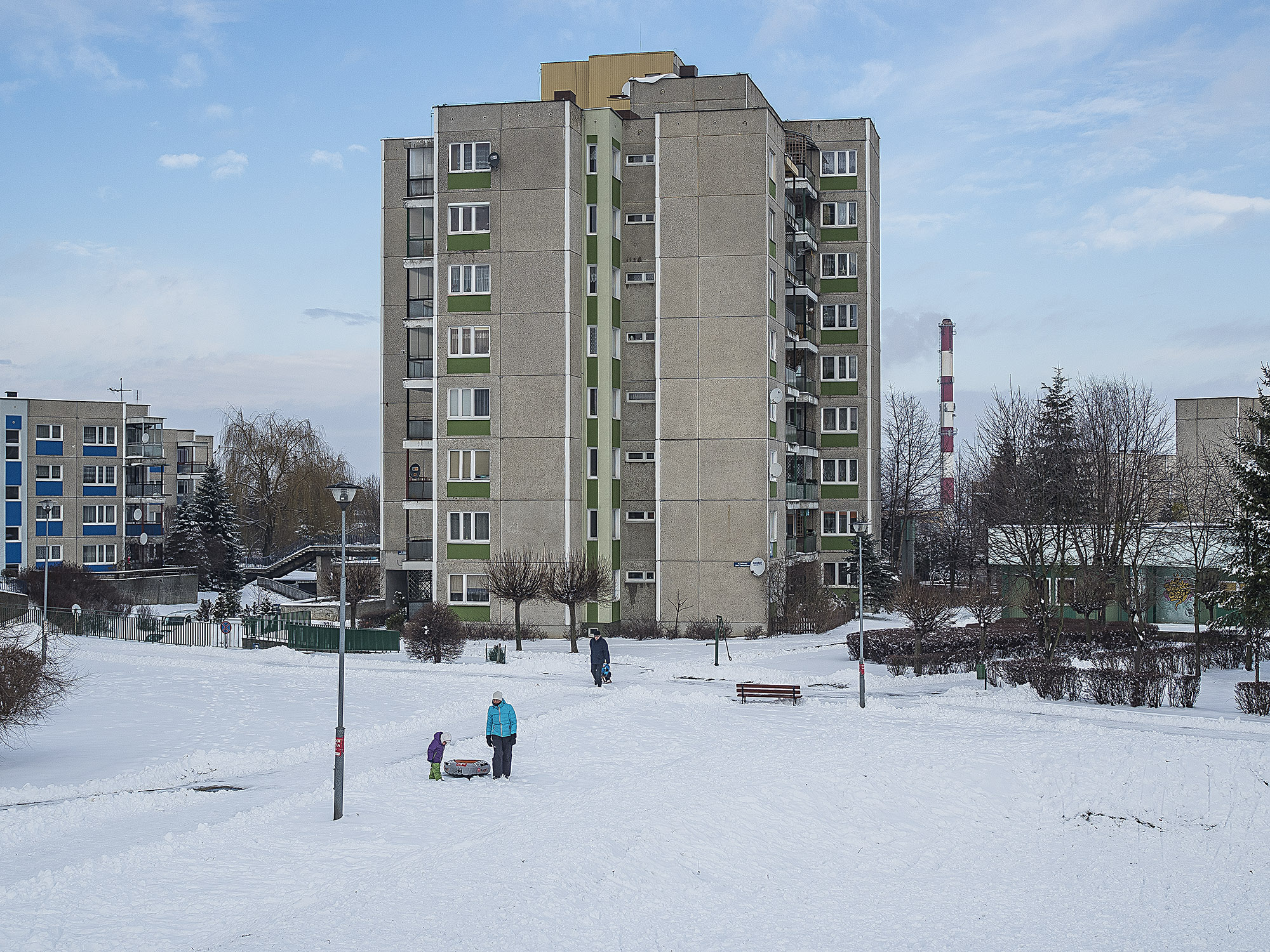 Osiedle ulokowano na ponad pięćdziesięciu hektarach (fot. Filip Springer)
