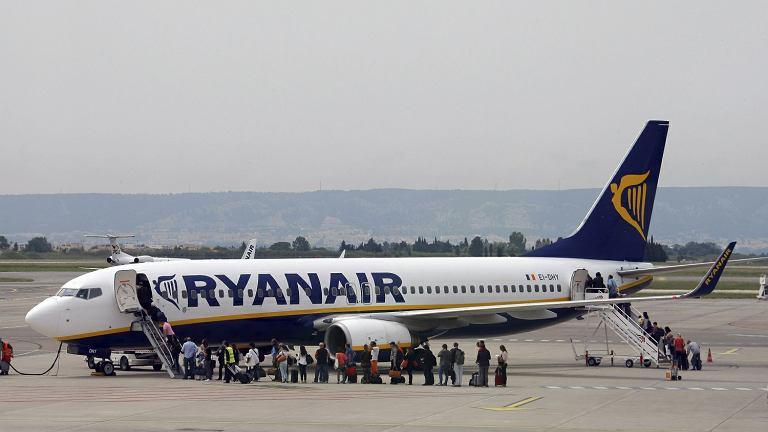 Strajk pilotów linii lotniczych Ryanair. Odwołano prawie 400 lotów