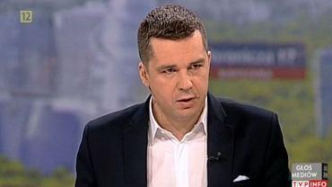 Michał Rachoń z TV Republika zastąpił Krzysztofa Ziemca. Prowadził program publicystyczny w TVP Info