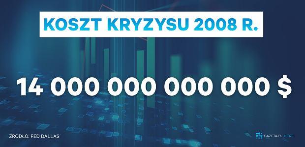 Koszt kryzysu 2008 r.