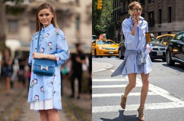 Sukienki koszulowe - ubierz się w londyńskim stylu