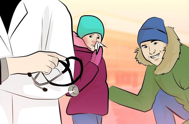 Rodzice w obawie przed utratą pracy łapią się wszystkiego, by przemycić przeziębione dziecko do przedszkola