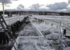 Wichura w Trójmieście. Sztorm niszczy molo w Sopocie [ZDJĘCIA]