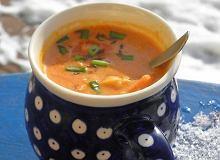 Zupa soczewicowo kokosowa z chili - ugotuj