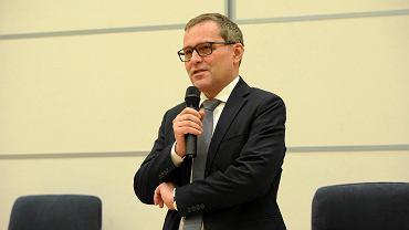Cezary Gmyz, berliński korespondent TVP wygłosił prelekcję na Uniwersytecie Szczecińskim