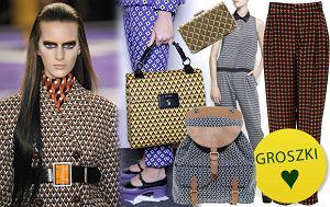 Trend alarm: wzory w stylu Miucci Prady, lata 70, geometryczne wzory, prada, printy, zima 2012, retro, trendy, jesien 2012